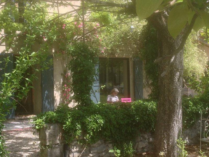 Maison provençale, avec piscine et grand terrain clôturés, holiday rental in Le Thor
