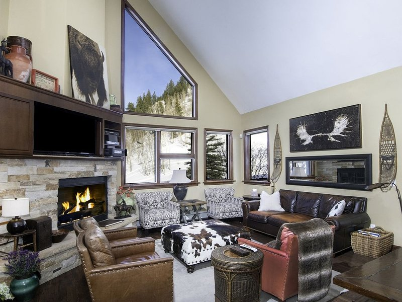 Vail Mountain Home on National Forest Line Next to Chair 20, holiday rental in Vail