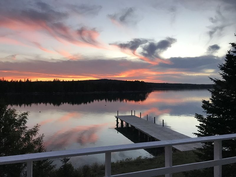 Georgeous sunsets from our deck