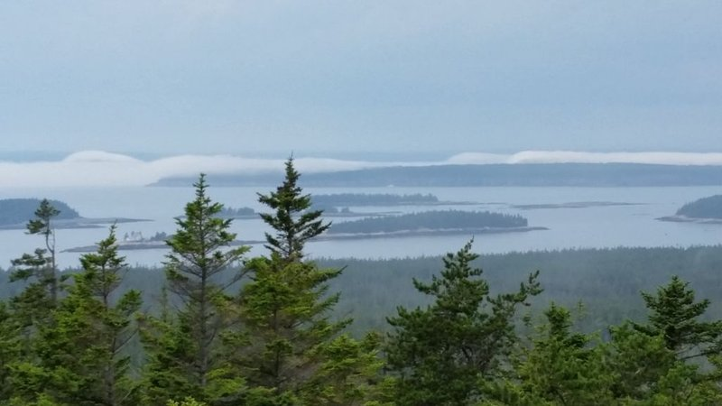 View of islands from Pigeon Hill