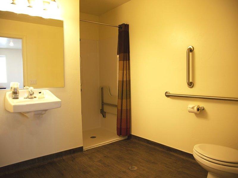 Master Suite Bathroom. Handicap Accessible