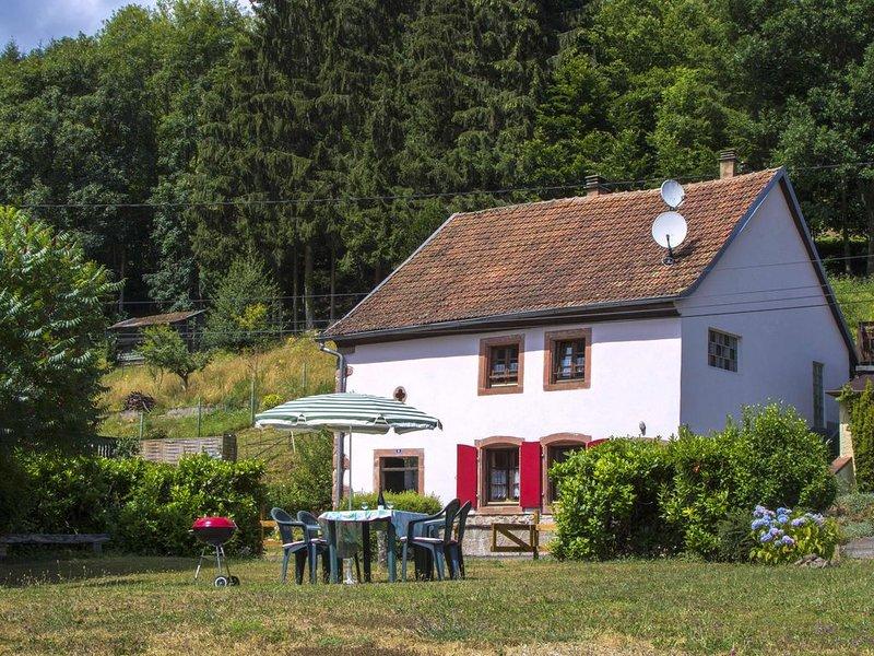 Alsace, Donon, Maison individuelle de montagne, tempérée en été/ détente, holiday rental in Badonviller