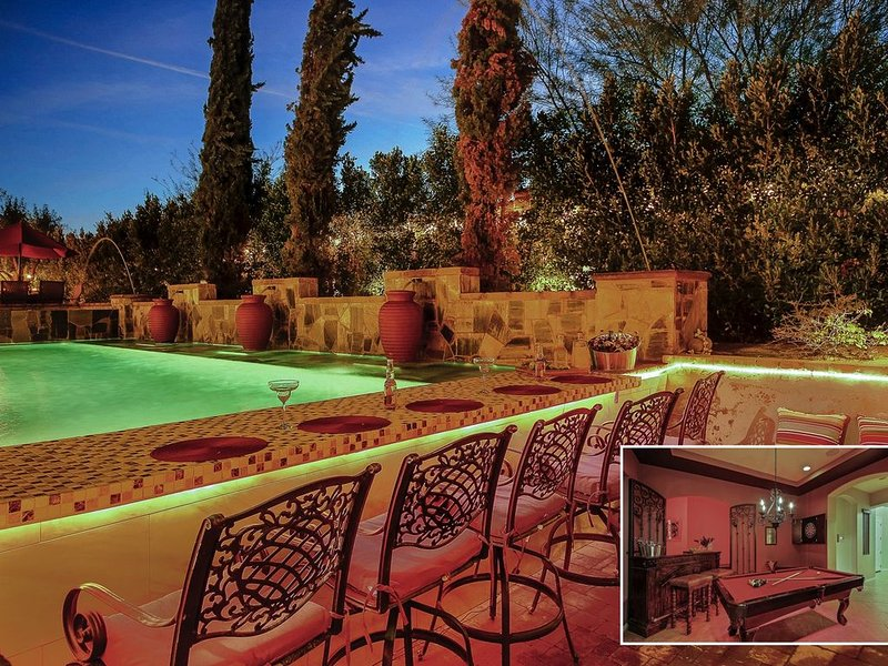 Arundel: Pool, Spa, Pool Table, Putting Green!!, location de vacances à Indio