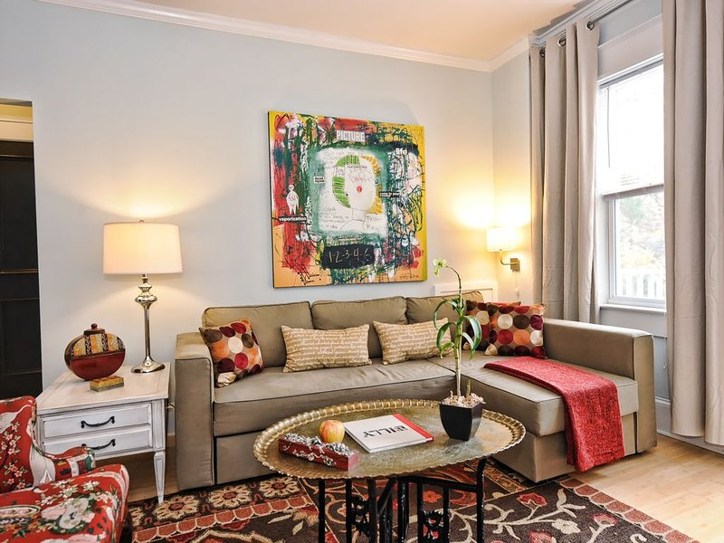Comfortable Dilworth 1BR/1BA Residence 1 mile to Uptown, location de vacances à Charlotte