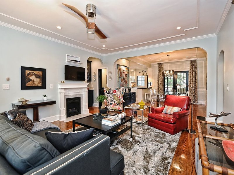 Exquisite Luxury in the Heart of Myers Park-1 mile to Uptown Charlotte, location de vacances à Charlotte