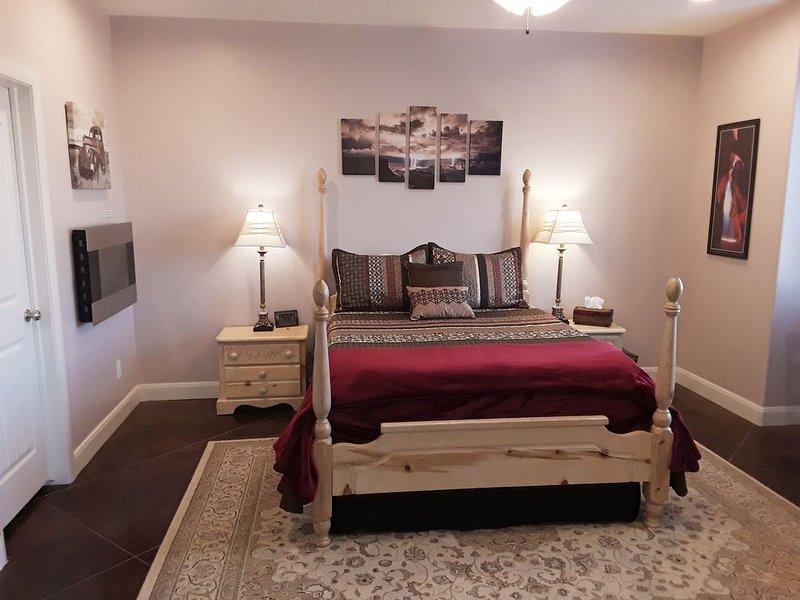 Master Suite with Private Entrance, aluguéis de temporada em Colorado City