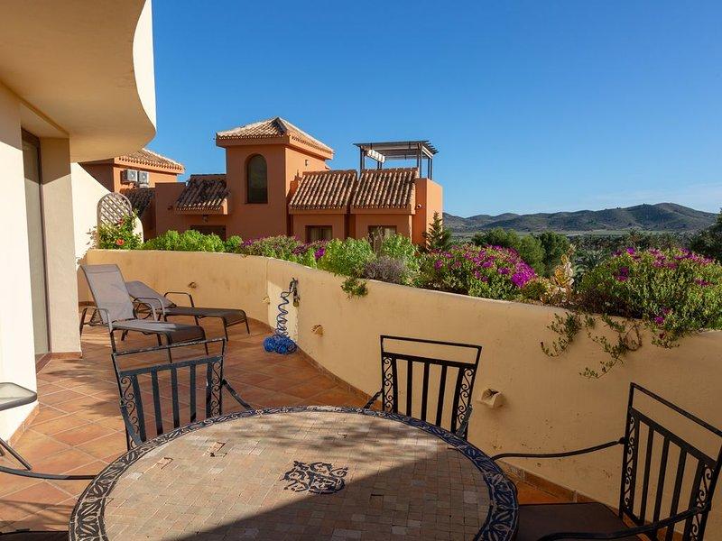 Las Terrazas del Coto , vue imprenable sur le, holiday rental in Llano del Beal