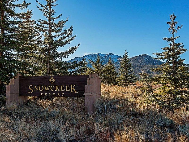 Snowcreek Resort in Mammoth