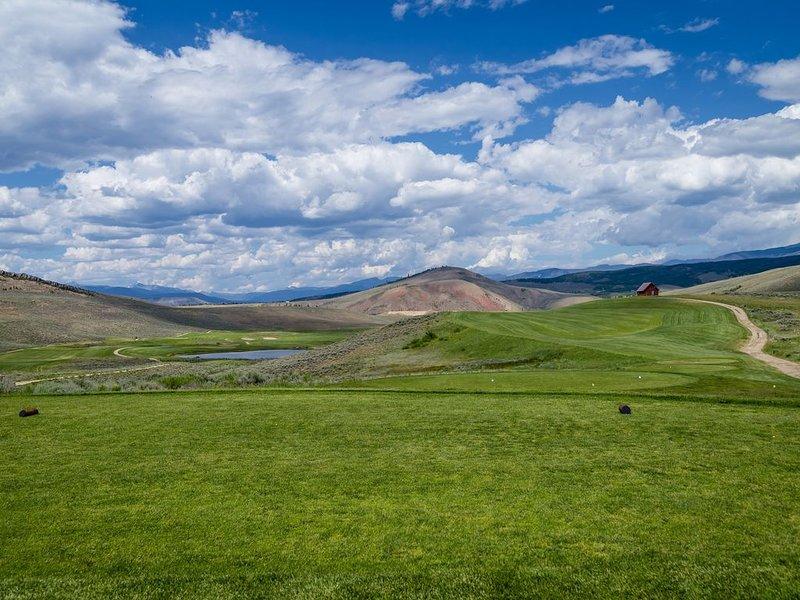 Hermoso campo de golf!