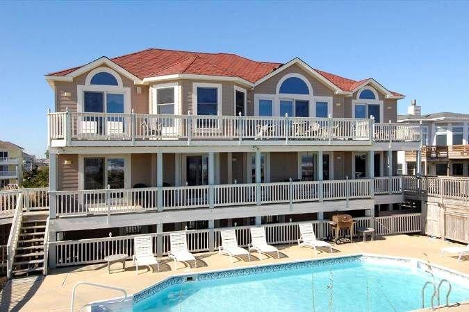 #OH1: OCEANFRONT w/HtdPool, HotTub, Elev. & RecRm w/PoolTable, location de vacances à Corolle
