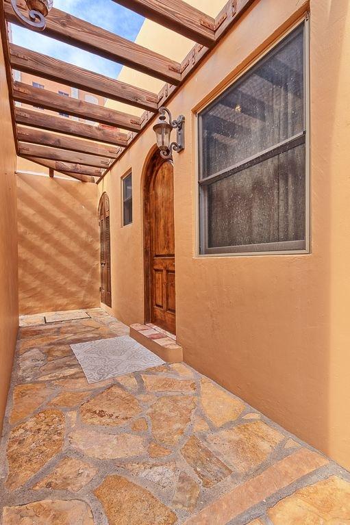 Hallway in front of Casita