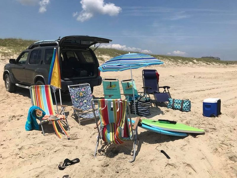 Parking Pass, Chairs, Boogie Board Included in Rental- no need to bring your own