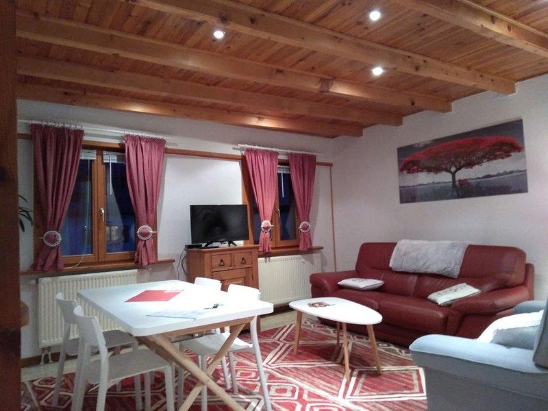 Gîte 'Un Moment à Partager' *** Locations du Massif, holiday rental in Bergheim