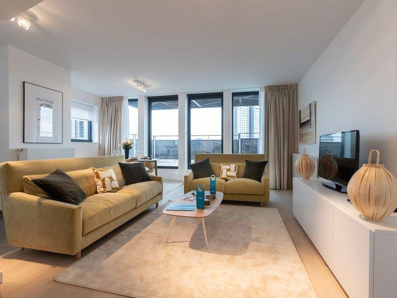 Stassart VI - Trois Chambres Appartement, Couchages 6, location de vacances à Ixelles