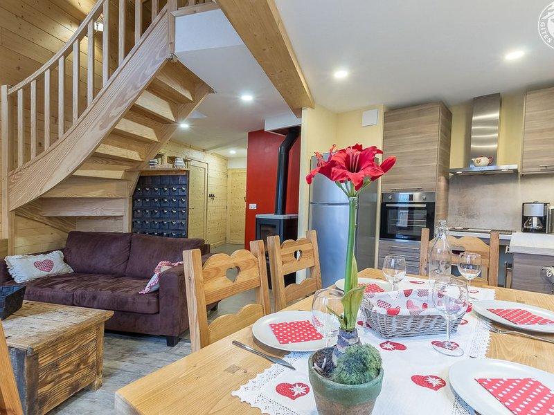 Appartement 6 personnes 'la Parrachée' 3 étoiles, aluguéis de temporada em Val-Cenis
