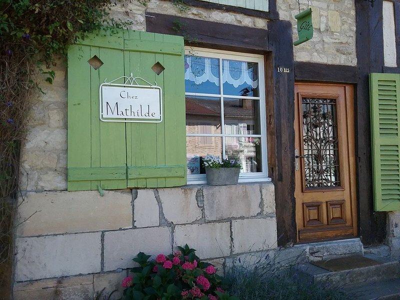 Chez Mathilde to Rarécourt, holiday rental in Nettancourt