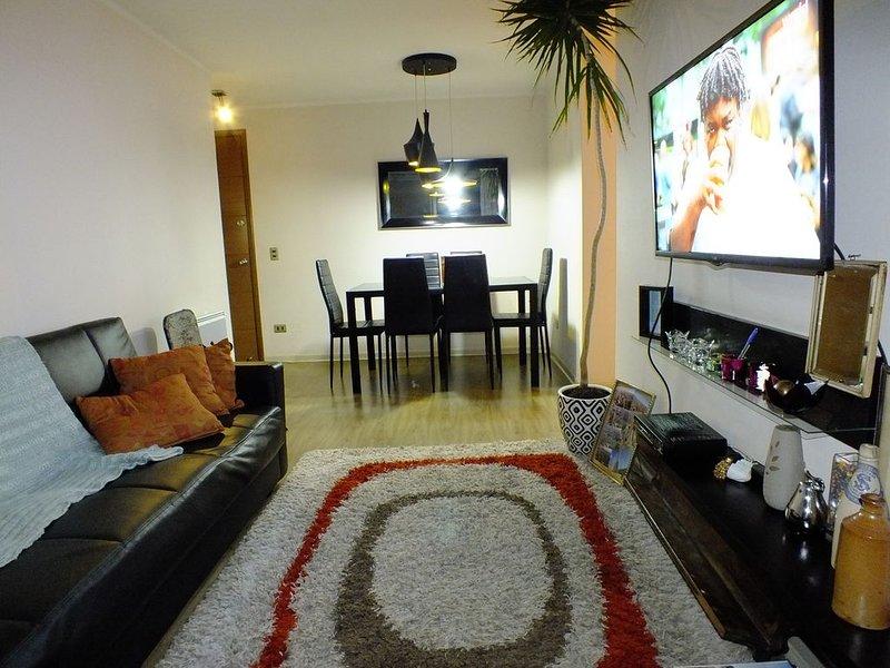 Enjoy The Properties Of Living In The Center Of The City (Santiago Centro), alquiler de vacaciones en Santiago
