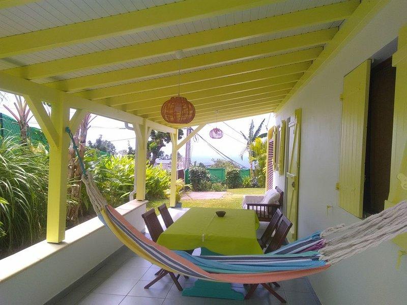 f 2 neuf climatisé  vue sur la mer des caraibes, holiday rental in Vieux-Fort