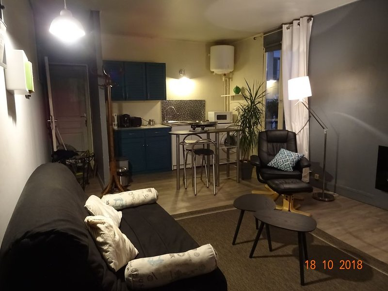 appartement 1er etage dans dépendances dans joli jardin – semesterbostad i Chambourcy