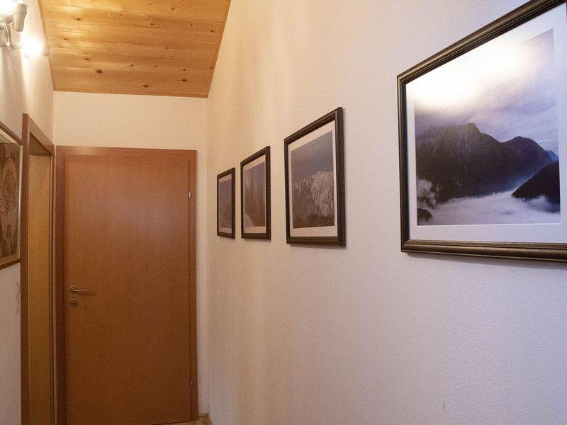 Corredor de visão Ötztal daqui você entra nos 3 quartos
