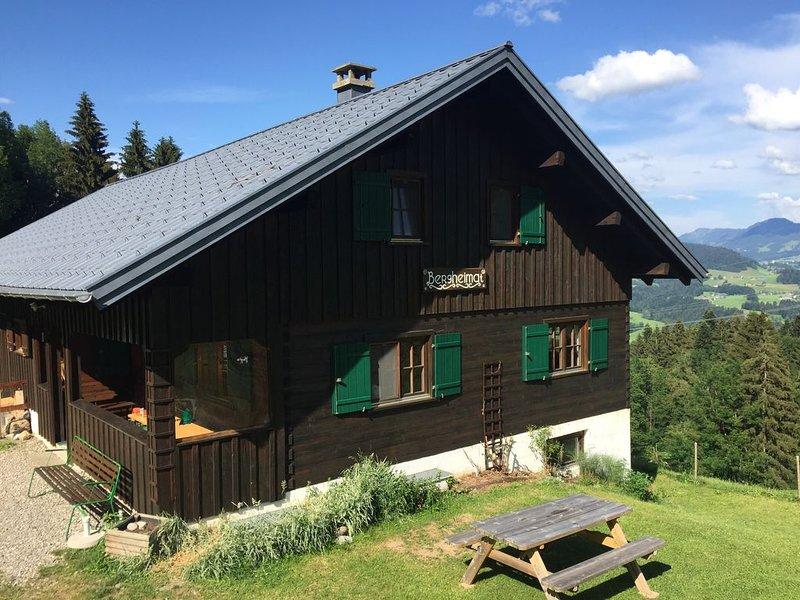 Ferienhaus in ruhiger Lage, Ferienwohnung in Vorarlberg