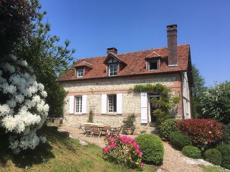 Le Moulin, maison de charme à Honfleur, holiday rental in Honfleur