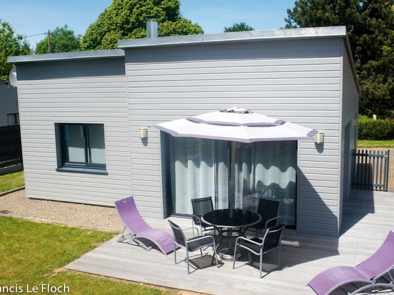 The key vacation. Cottage in timber frame 3 stars MANCHA TOURISM, holiday rental in Avranches