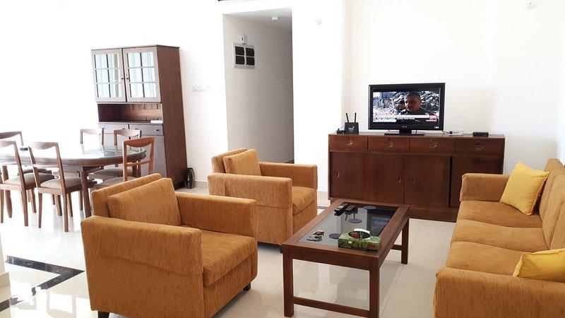 Modern one bedroom apartment, in a quiet neighborhood, vacation rental in Dehiwala-Mount Lavinia