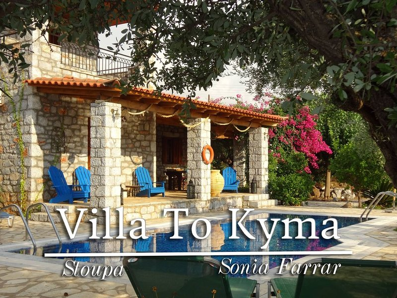 Beautiful Trad. Stone Villa, Private Pool, Close To Beach & Stoupa, vacation rental in Stoupa