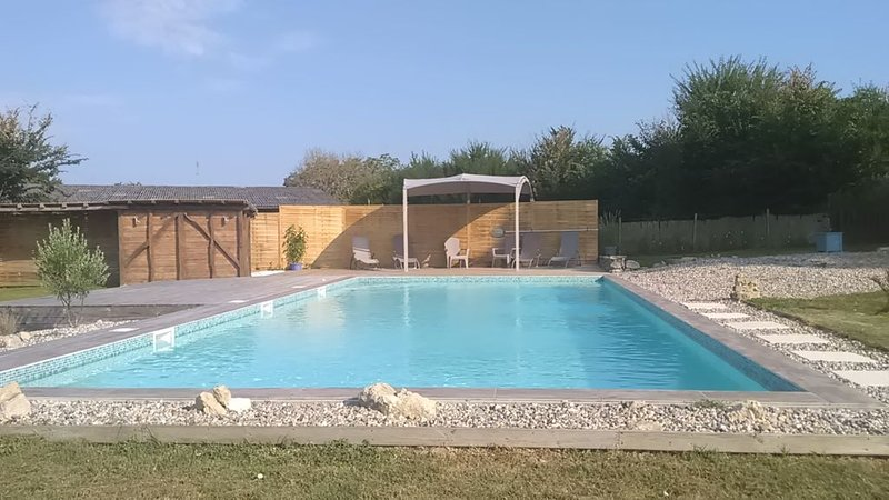Character 18C house with 12m by 6m pool, vacation rental in Cours-De-Monsegur