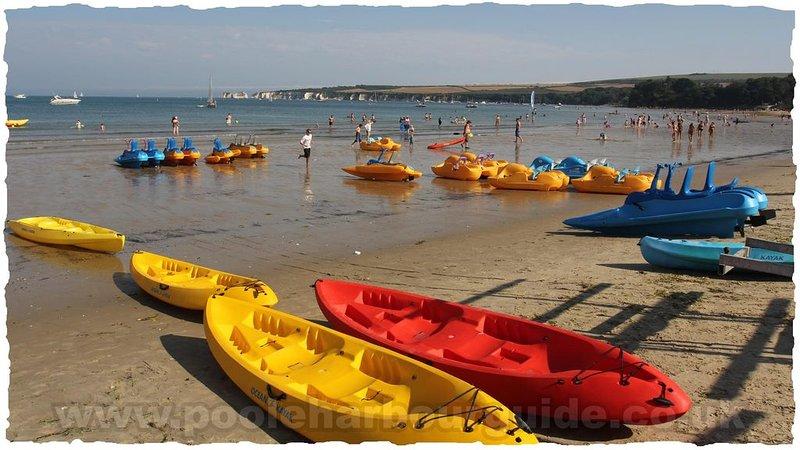 Kayaking and watersports at Studland