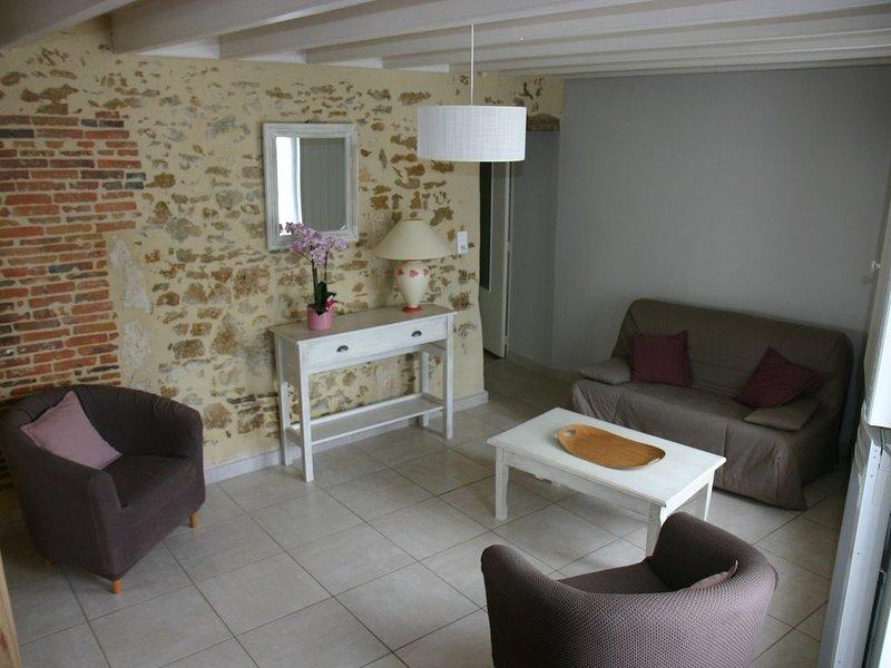 Gîte 3 ***  LE PÂTIS ROULEAU ,  proche du PUY du FOU, location de vacances à Saint-Jean-de-Beugné
