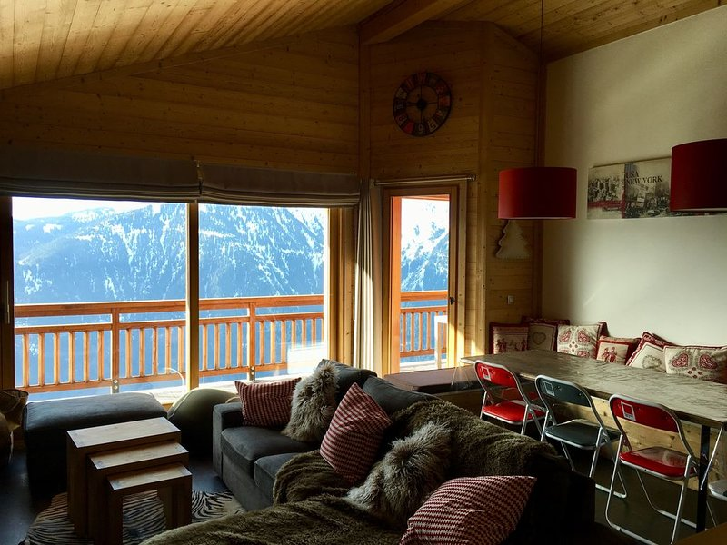 Appartement haut standing, Bisanne 1500 (Les Saisies), 4 chambres, 8 à 10 pers, holiday rental in Queige
