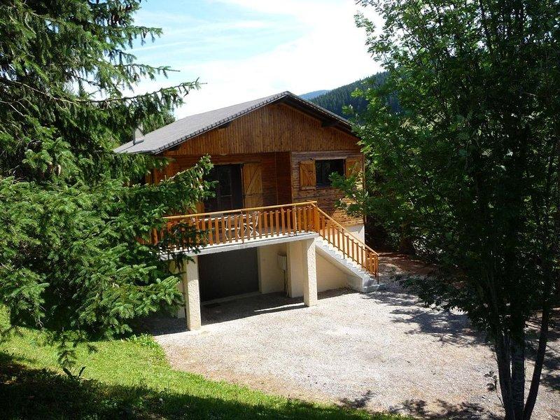 location chalet 6/7  personnes à Méaudre chalet ( isère), holiday rental in Autrans