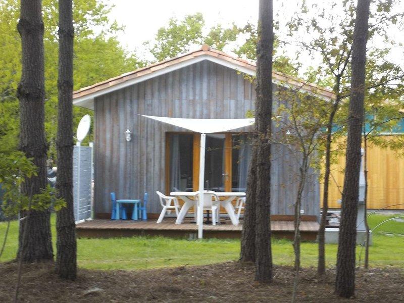 maison bois neuve climatisée classée 3 étoiles., vacation rental in Gastes