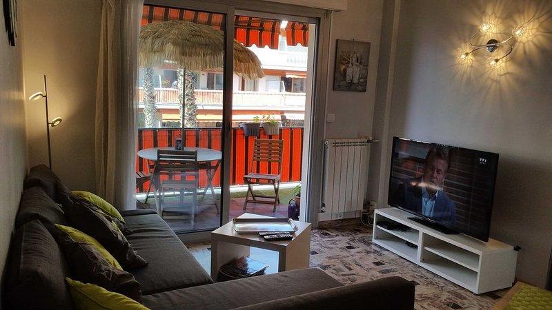 Appartement F3 de 90 M2 proche mer et hippodrome, alquiler de vacaciones en Cagnes-sur-Mer