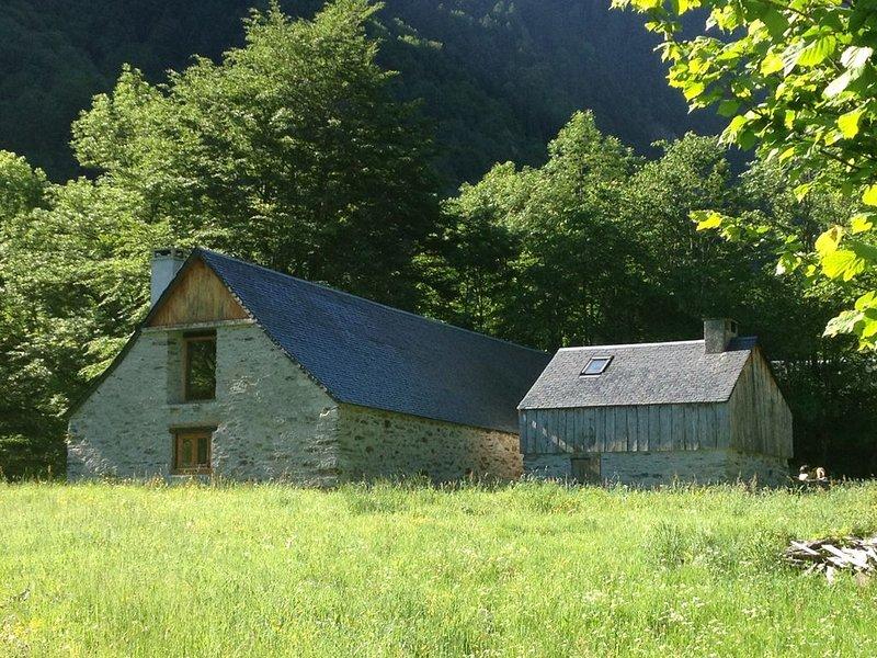 Chalet 10 personnes, en vallée du Louron, aluguéis de temporada em Hautes-Pyrenees