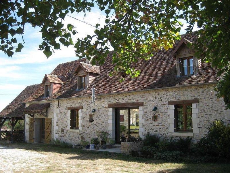 Gite rural 6/8 personnes proche du zoo de Beauval, casa vacanza a Indre