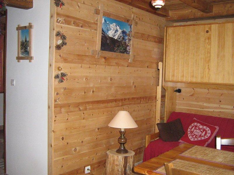 Serre chevalier 1400, Le Bez, pied de pistes,appartement  4 pers.dans maison., holiday rental in La Salle les Alpes