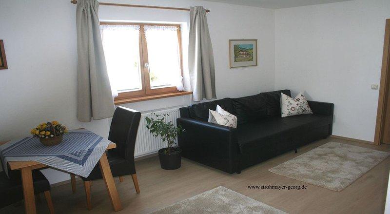 (2) Ferienwohnung 36m², 2 Personen mit seperaten Schlafzimmer, Du/WC, Balkon, casa vacanza a Oberwossen