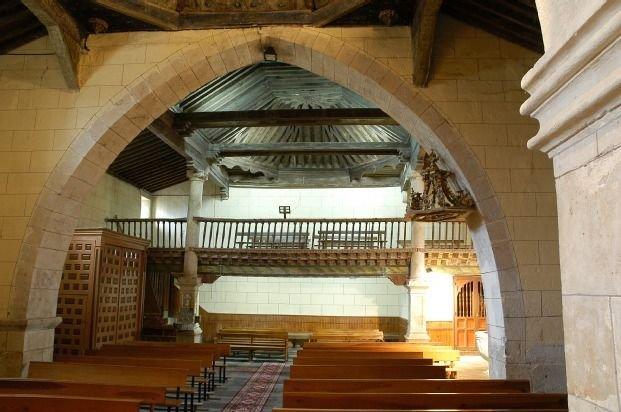 Interior de la iglesia de Moriscos