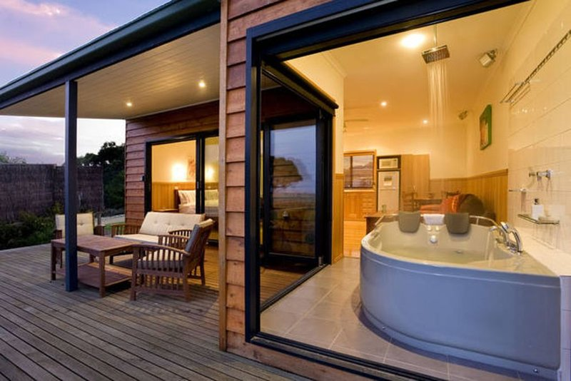 Coastal View Cabins, Luxury Spa Wilsons Promontory, location de vacances à Yanakie
