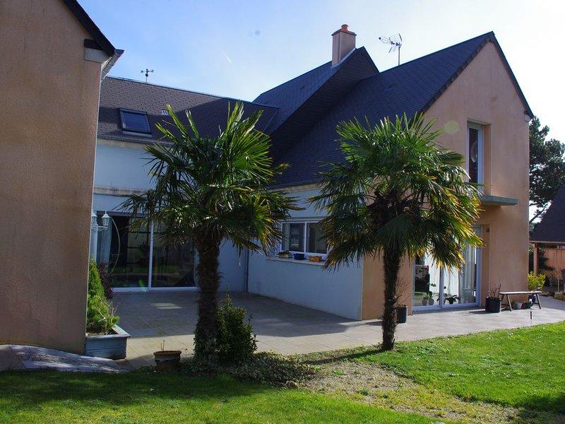 Chambre d'hôtes bord de mer 1, location de vacances à Port-Bail