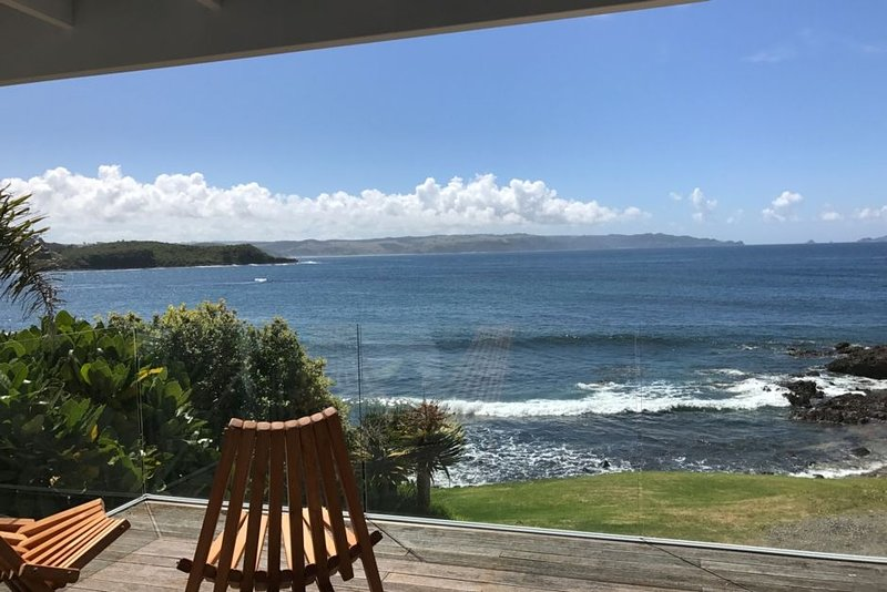 Uninterrupted ocean view from TIDE at The Sea House, location de vacances à Bay of Islands