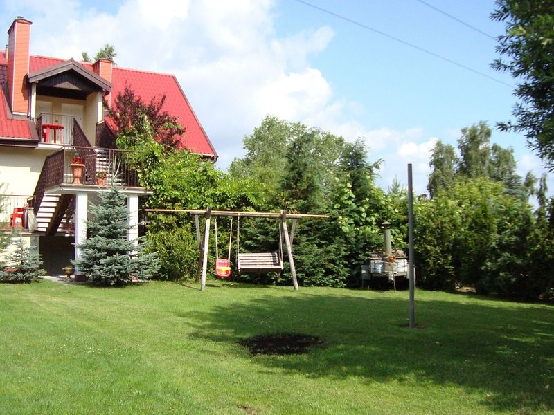 Lavish Holiday Home in Zgorzale Pomeranian with Private Pool, holiday rental in Northern Poland