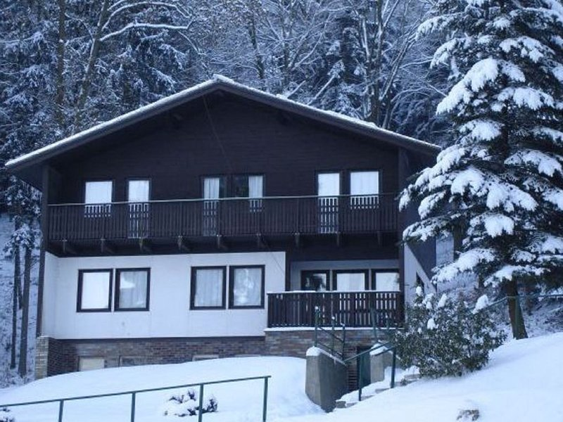 Cozy Chalet in Dolní Brusnice  with Swimming Pool, alquiler vacacional en Hradec Kralove Region