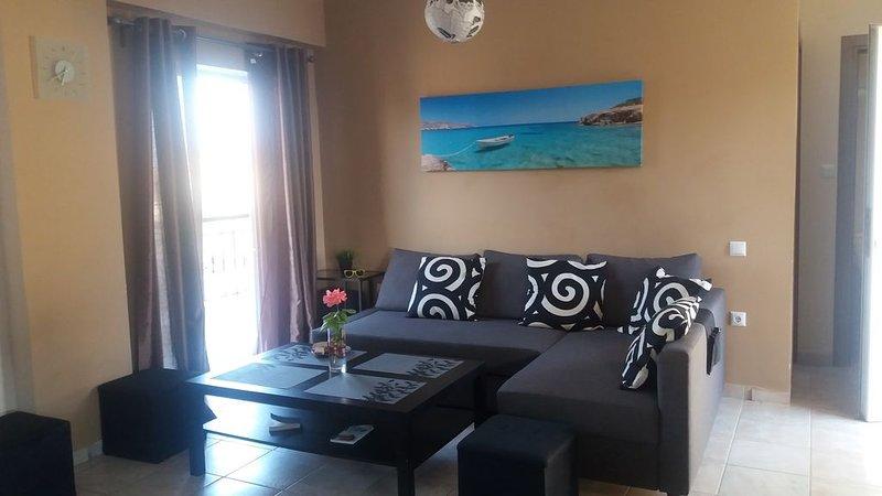 Apartment  for rent in Greece!, location de vacances à Nea Triglia