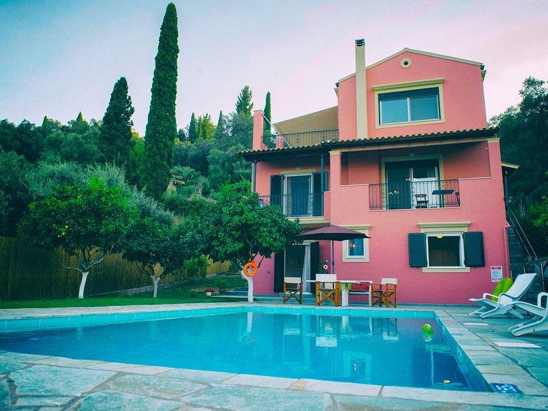Villa 'Casa Elisabetta', holiday rental in Kalafationes