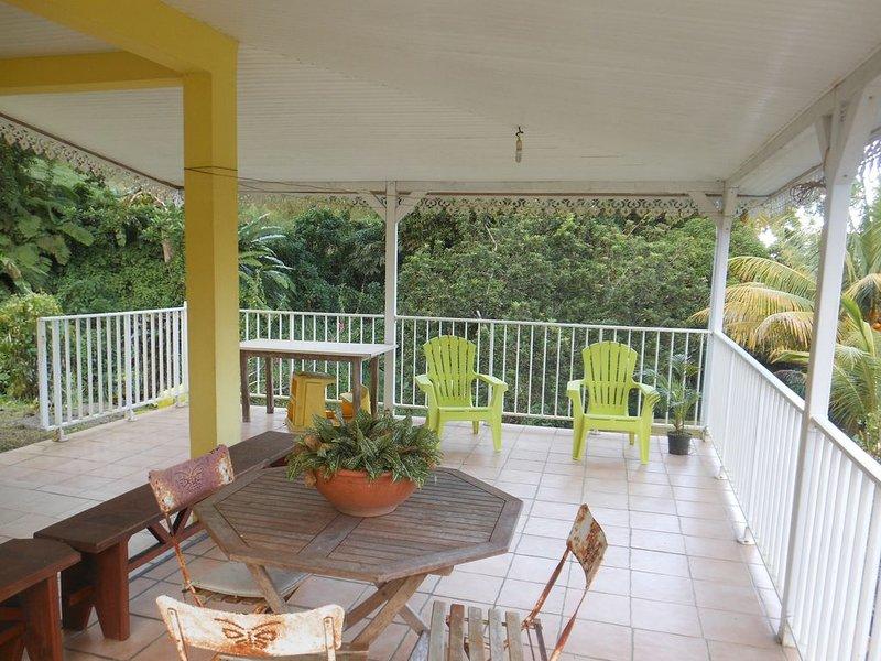 Villa F3 à SAINTE-MARIE, holiday rental in Marigot