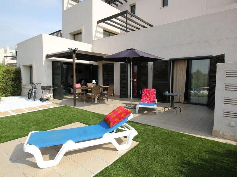 Luxury, ground floor, 3 Bed apartment, stunning views, vacation rental in Corvera